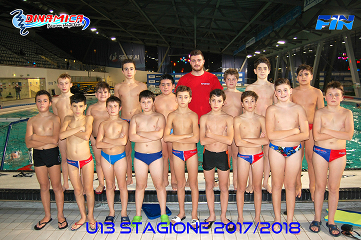 PALLANUOTO:  Under 13  Waterpolo Novara- Dinamica SSD Torino   13-2