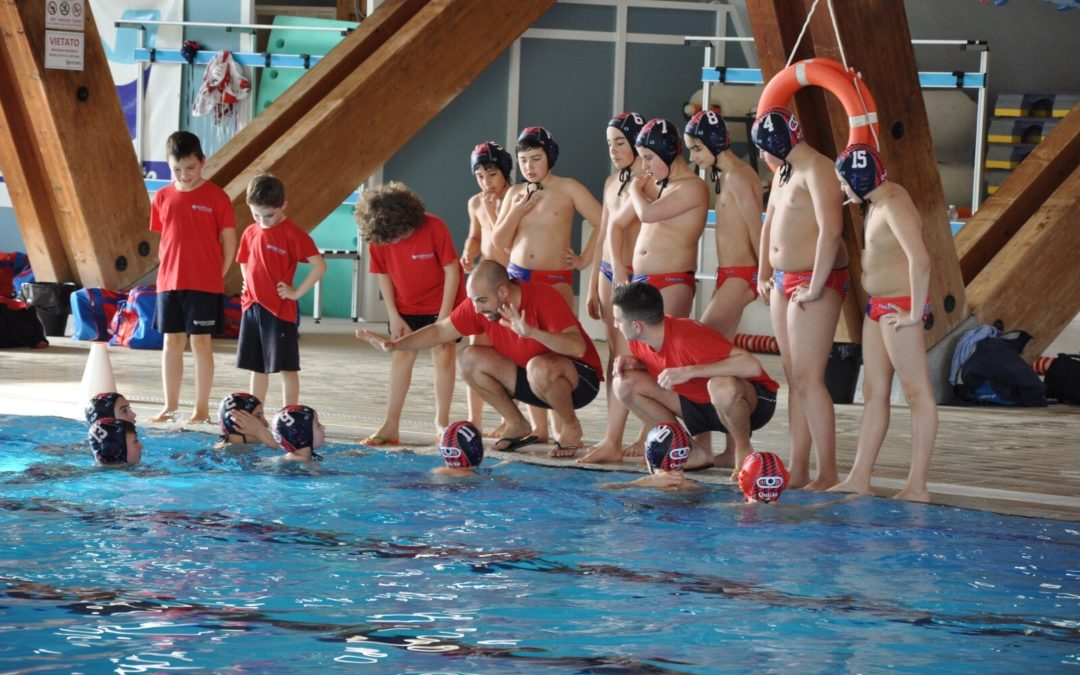 Pallanuoto: Under 13 doppietta per i segusini