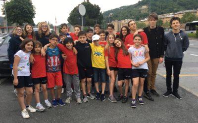 Fioccano medaglie per la società Dinamica alla trasferta di Genova!