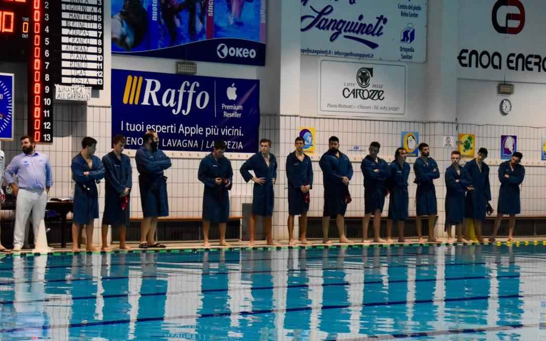 Pallanuoto Serie B : Dinamica beffata dalla Chiavari Nuoto