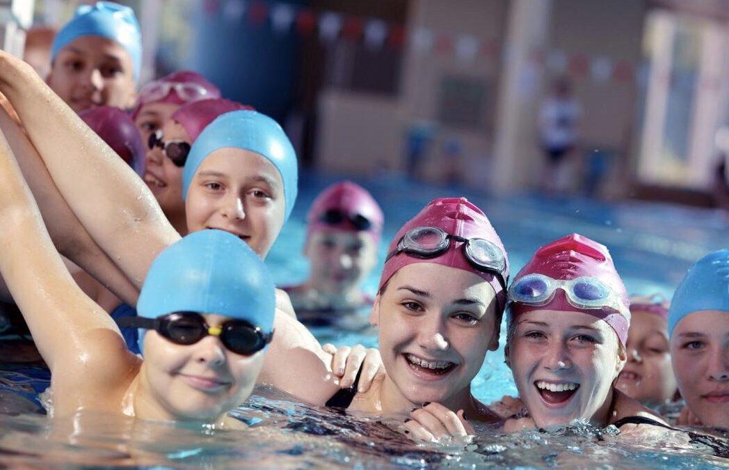 Inizio attività natatoria