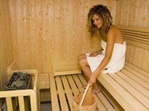 Sauna della Piscina di Susa Relax
