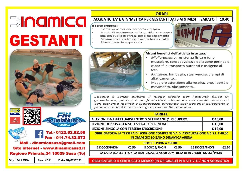 Volantino Gestanti 2019-2020